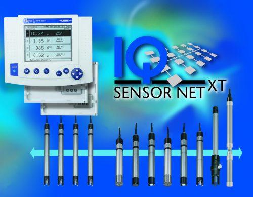 IQ SENSOR NET – система за непрекъсното измерване  на води